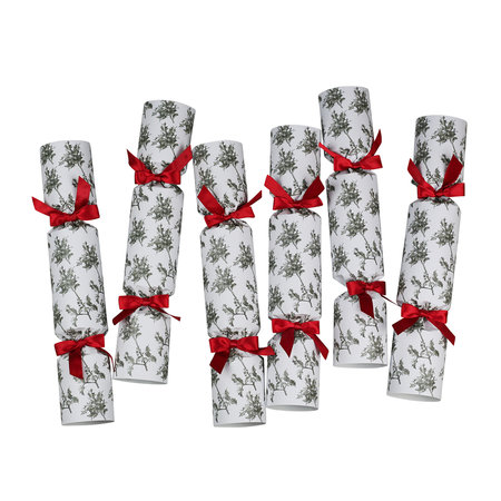 Nancy & Betty - Crackers de Noël Houx - Lot de 6