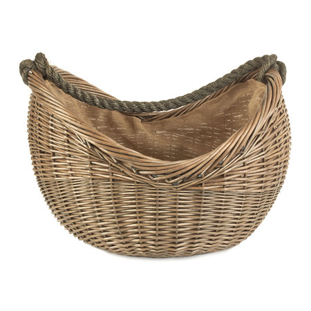 A by AMARA - Rope Handled Carrying Basket