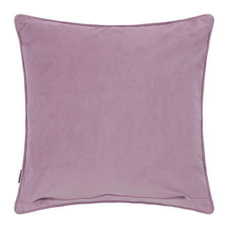 A by Amara - Velvet Cushion - Lilac - 45x45cm