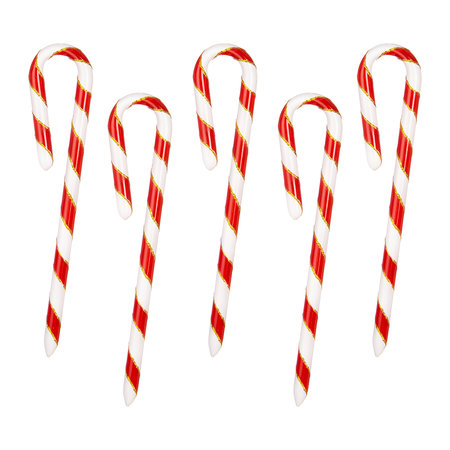 Buy Bombki Little Candy Canes Tree Decoration Set Of 40 Amara Magnificent Decorated Canes