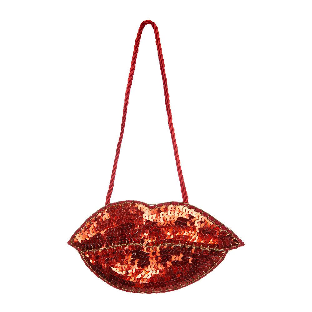 Jan Constantine - Glam Rock Lips Tree Decoration
