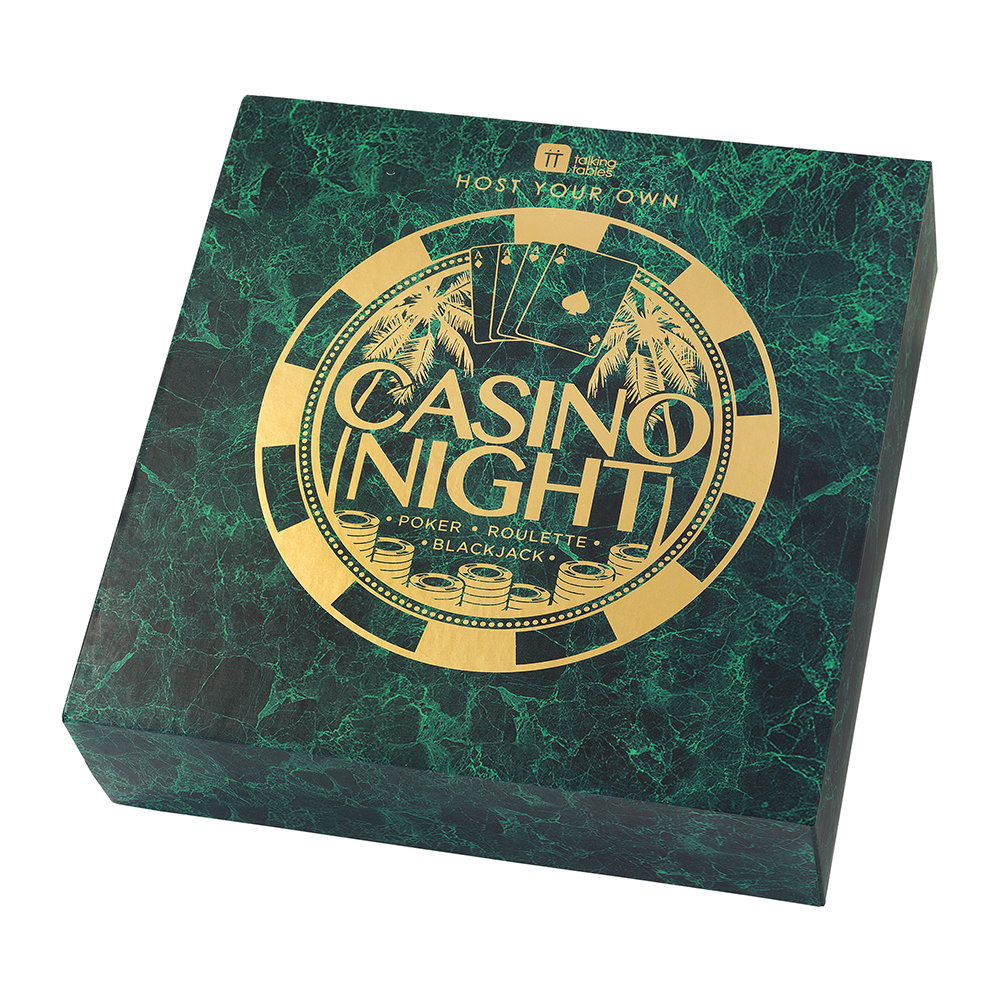 Talking Tables - 'Host Your Own' Casino Night Set