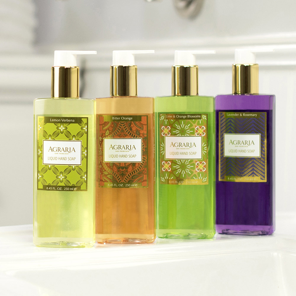 Agraria - Lime & Orange Blossom Liquid Hand Soap