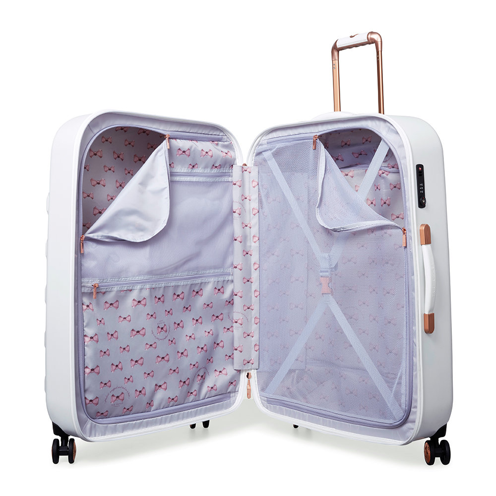 bcf4038db7bb0e Buy Ted Baker Beau Suitcase - White