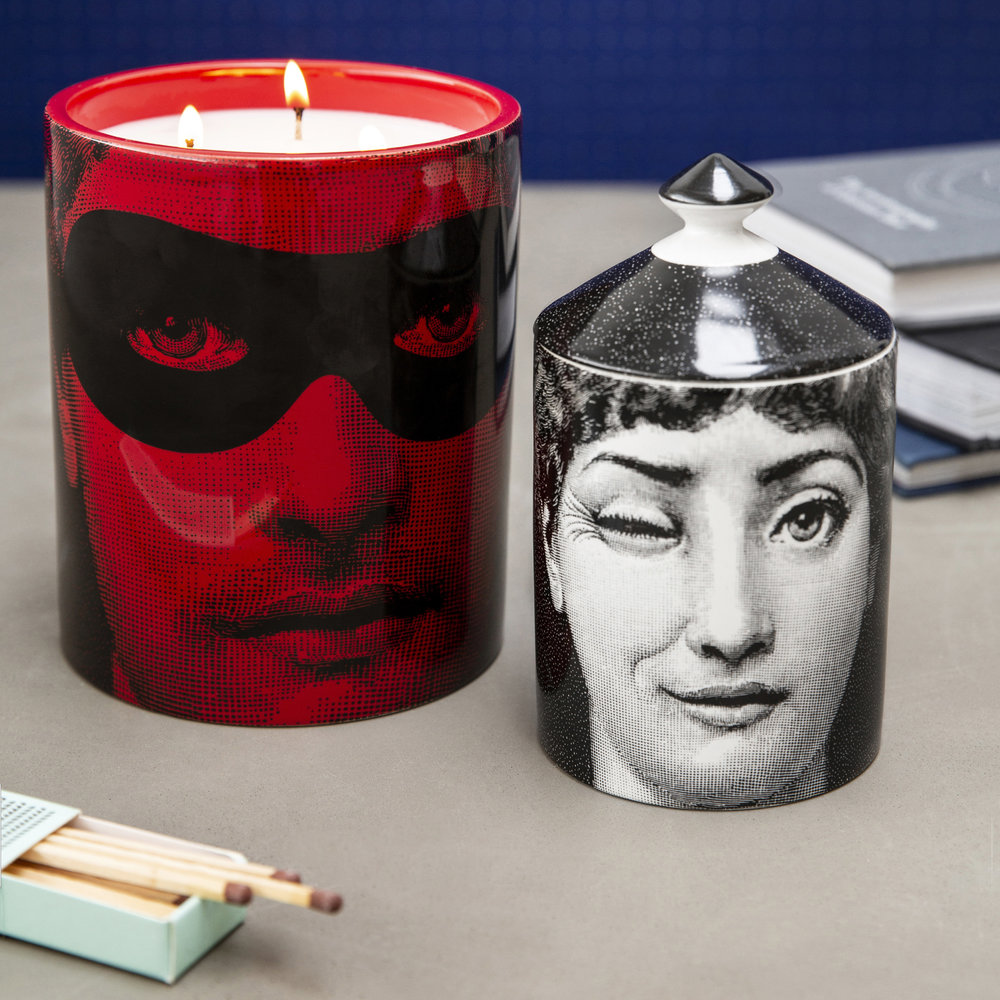 Fornasetti - Don Giovanni Scented Candle - Red - 900g