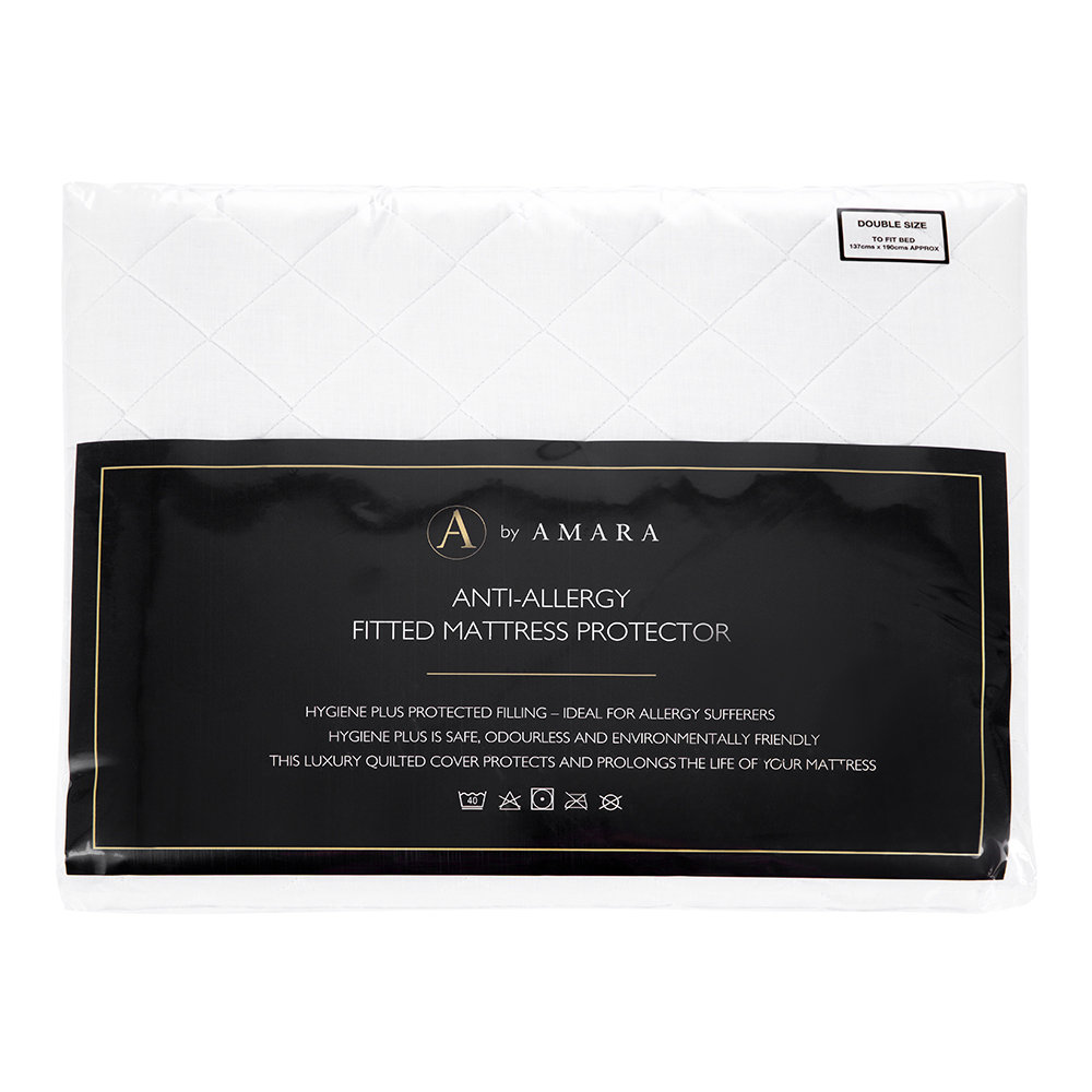 A by AMARA - Antiallergener Matratzenschoner - Super King