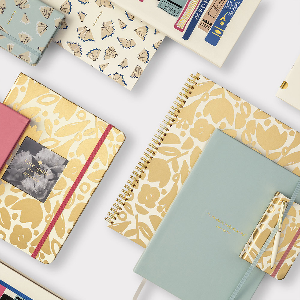 kate spade new york - Take Note Notebook - Excessively Diverted