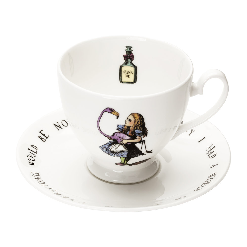Mrs Moore's Vintage Store - Alice Teacup & Saucer
