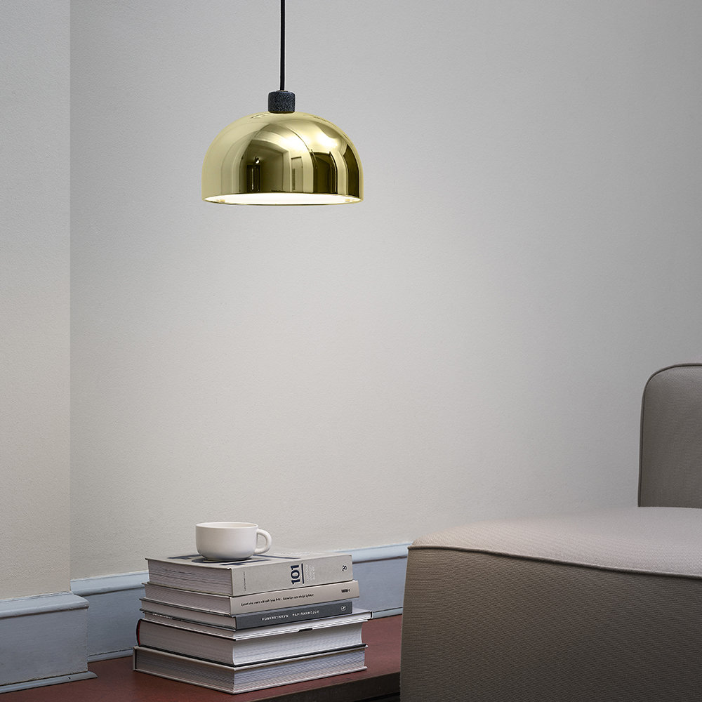 Normann Copenhagen - Grant Pendant Light - Brass - Small