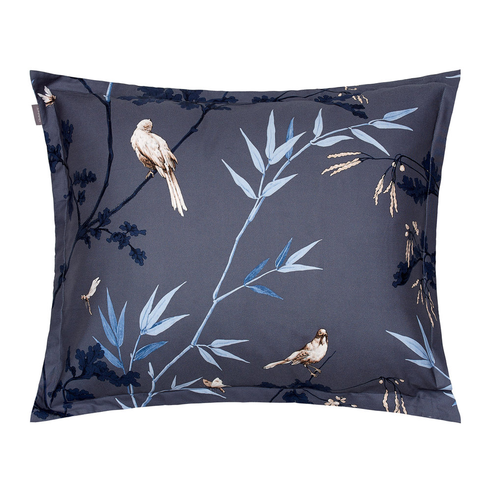 GANT - Birdfield Pillowcase - 50x75cm - Salty Sea