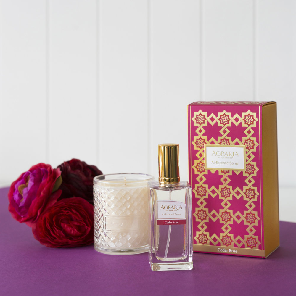 Agraria - Spray d'Ambiance AirEssence - 100 ml - Cèdre Rose