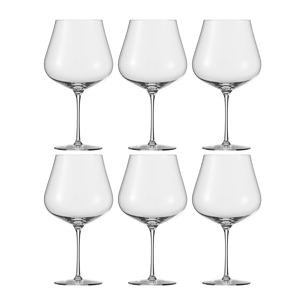 Zwiesel 1872 - Air Burgundy Wine Glasses - Set of 6