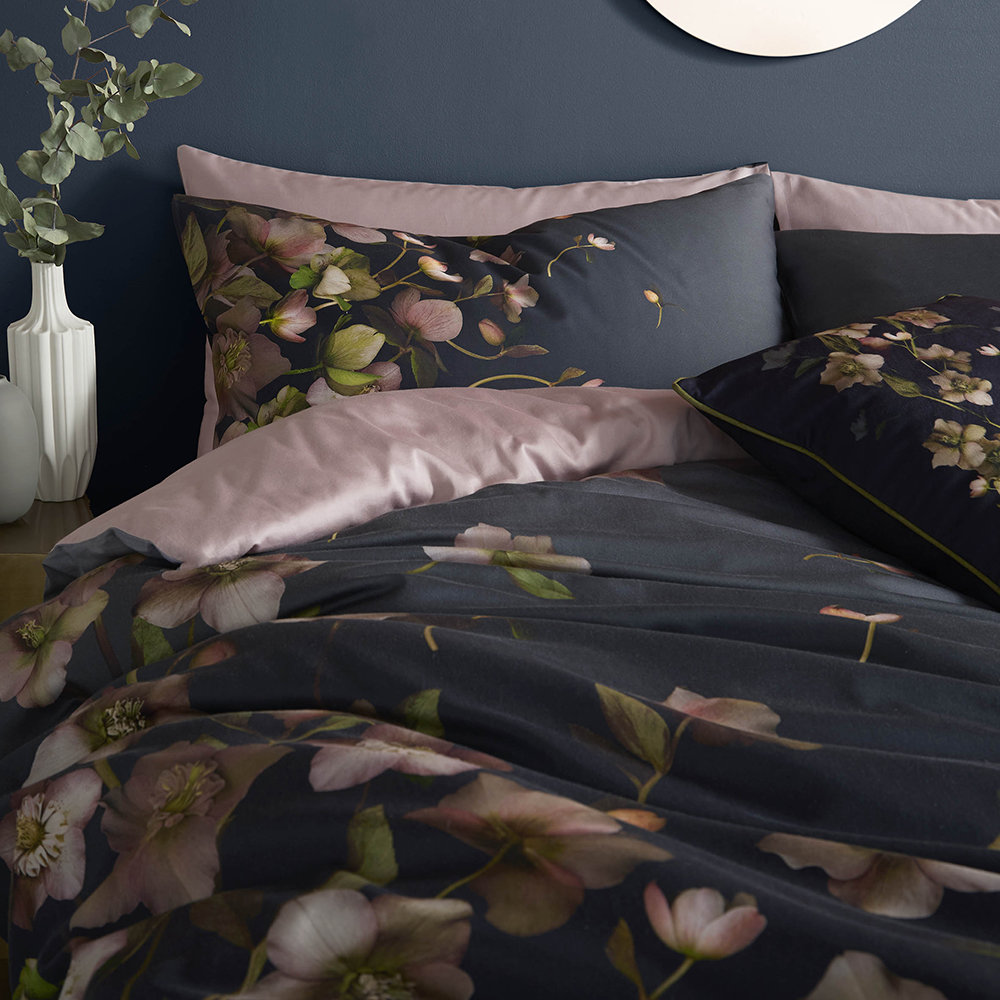 Ted Baker - Arboretum Quilt Cover - Charcoal - King