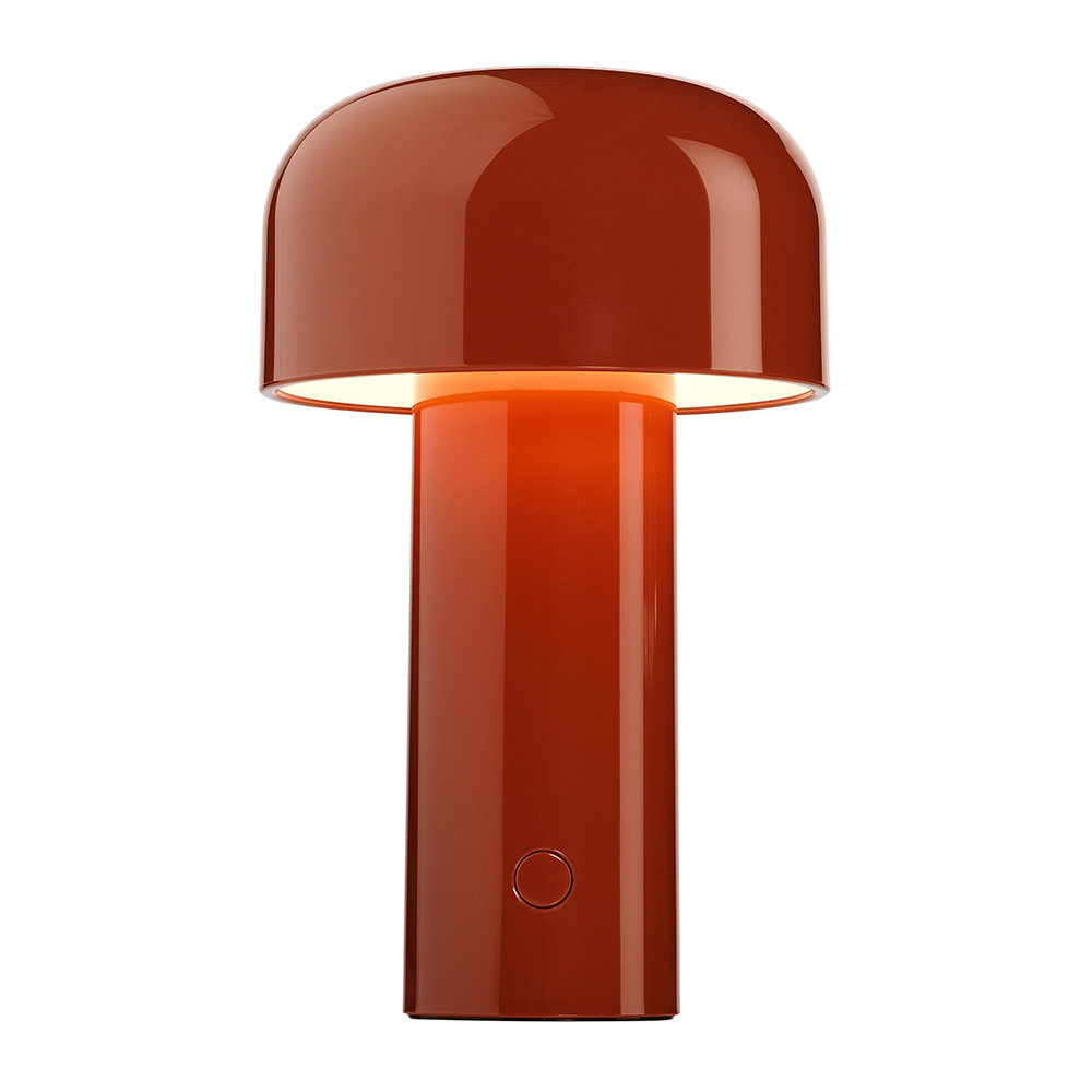 Flos - Bellhop Portable Rechargeable Table Lamp - Brick Red
