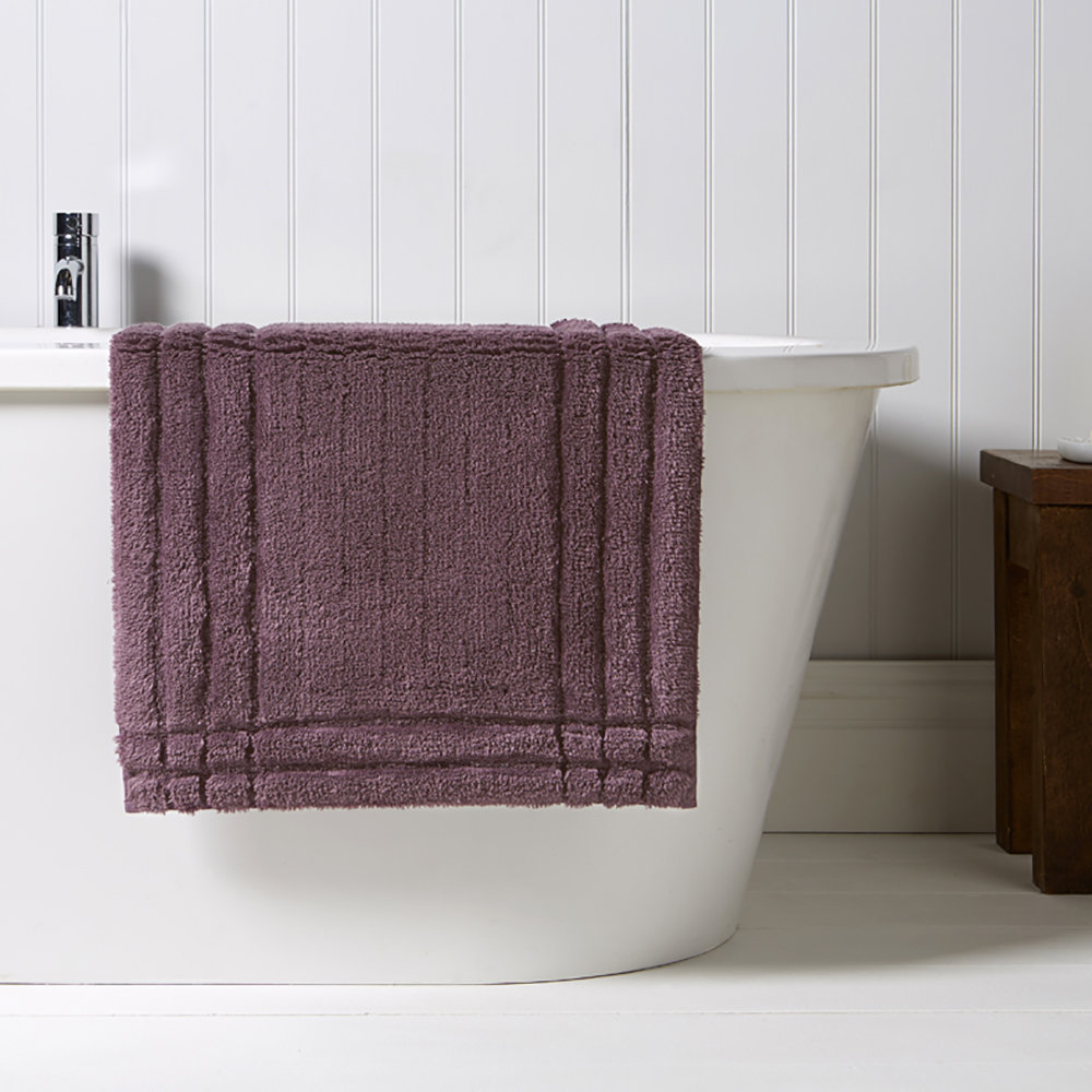 Christy - Tapis de Bain Tufté Christy - Figue - Moyenne