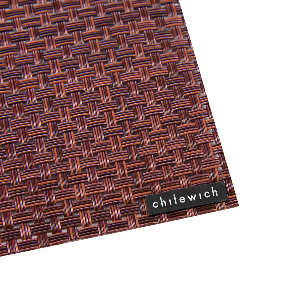 Chilewich - Basketweave Rectangle Placemat - Plum