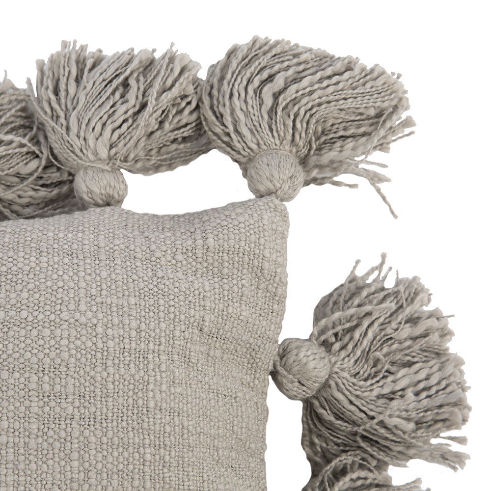 Bloomingville - Chateau Pillow - 45x45cm - Gray