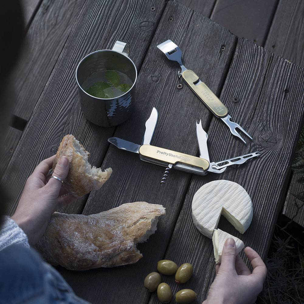 Pretty Useful Tools - Ustensile Fromage et vin multifonction
