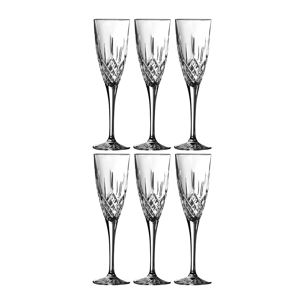 Royal Doulton - Earlswood Champagne Flute - Set of 6