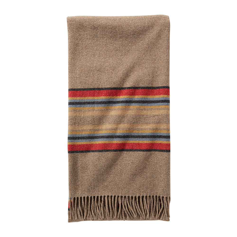 Pendleton - 5th Avenue Decke - Mineral Umber