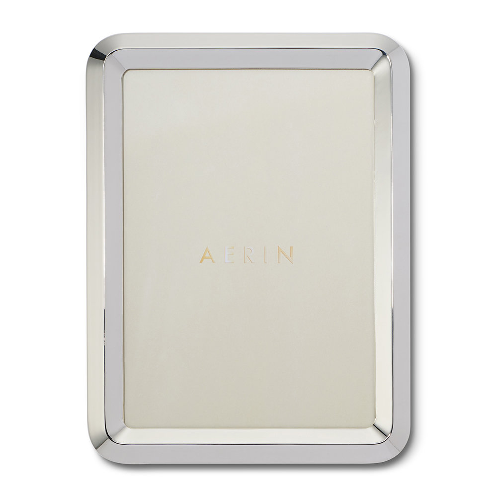 AERIN - Archer Photo Frame - Silver - 5x7""