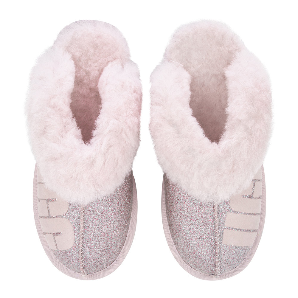 1e900fa3725 Women's Coquette Sparkle Slippers - Seashell Pink