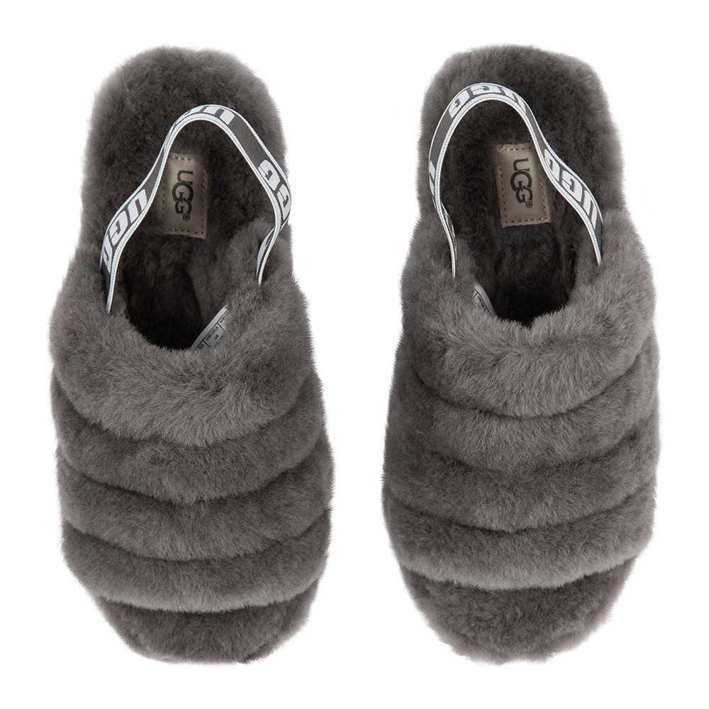 156ddb028922 Buy UGG® Women s Fluff Yeah Slide Slippers - Charcoal