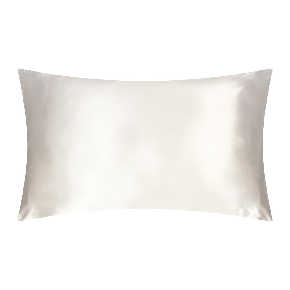 SLIP Queen Silk Pillowcase, White