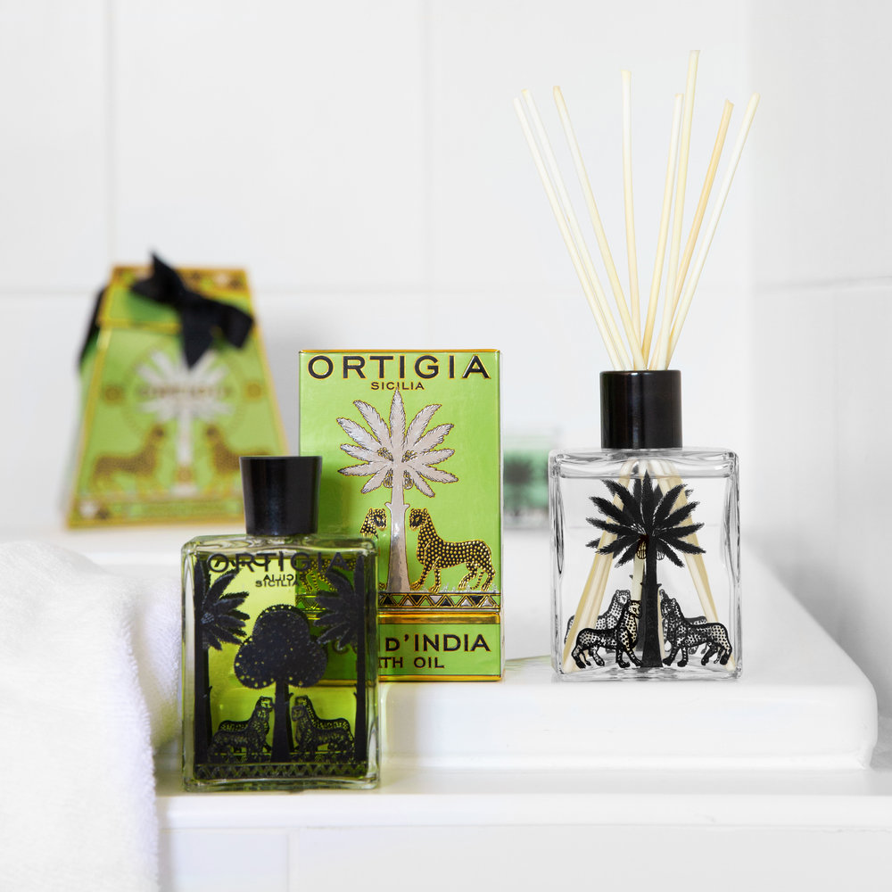 Ortigia - Fico D'India Fragrance Diffuser - 200ml