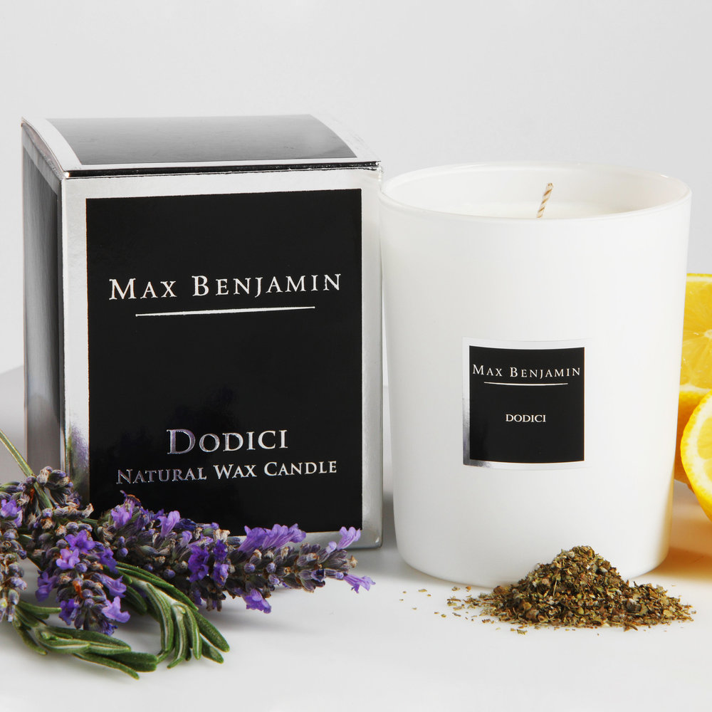 Max Benjamin - Classic Collection Scented Candle - 190g - Dodici
