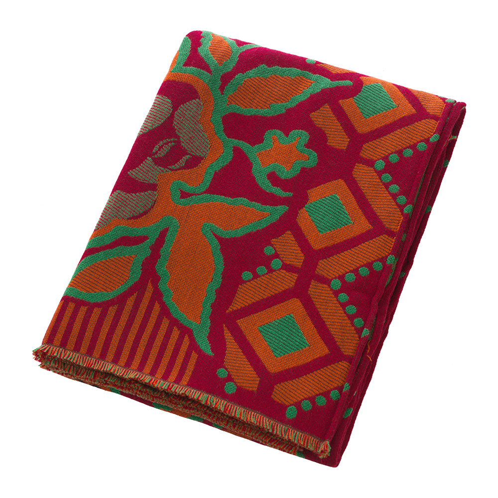 Etro - Clamores Fringed Throw - Red