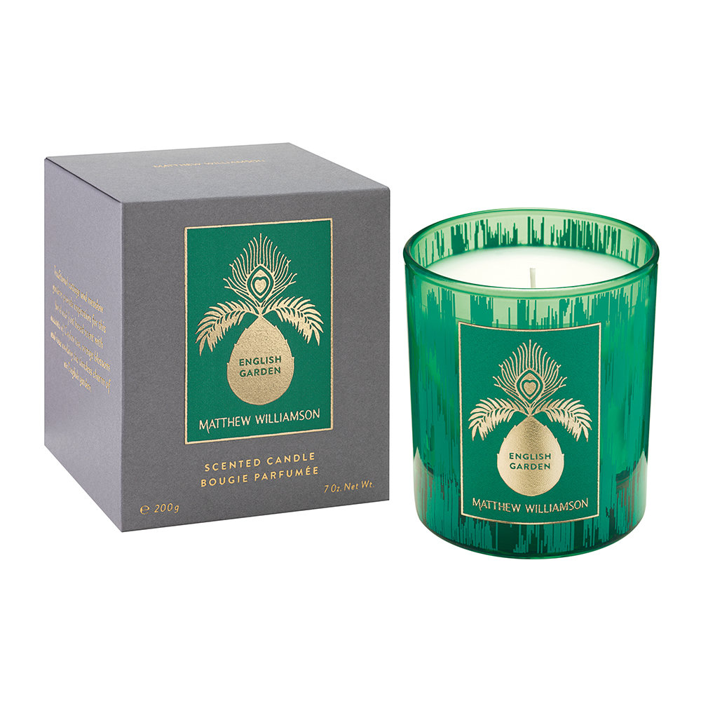 Matthew Williamson - Scented Candle - 200g - English Garden
