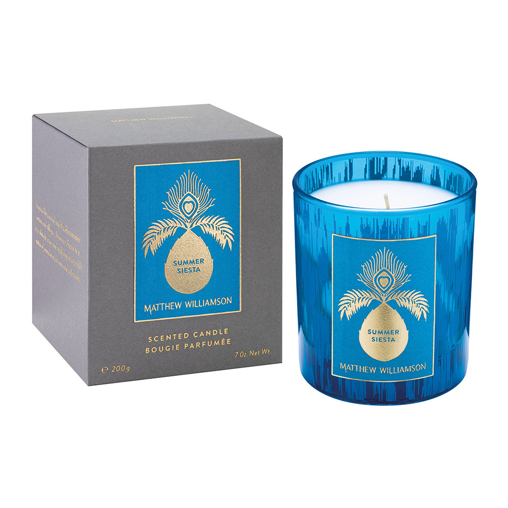 Matthew Williamson - Scented Candle - 200g - Summer Siesta