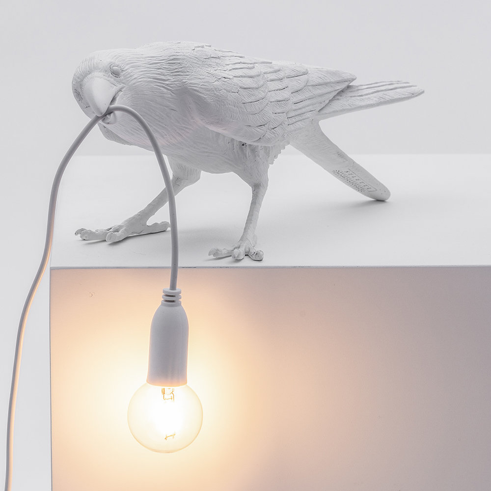 Seletti - Bird Lamp - Playing - US/AUS Plug - White