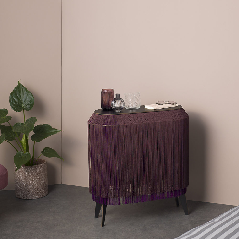 ibride - Baby Alpaga Side Table - Deep Purple