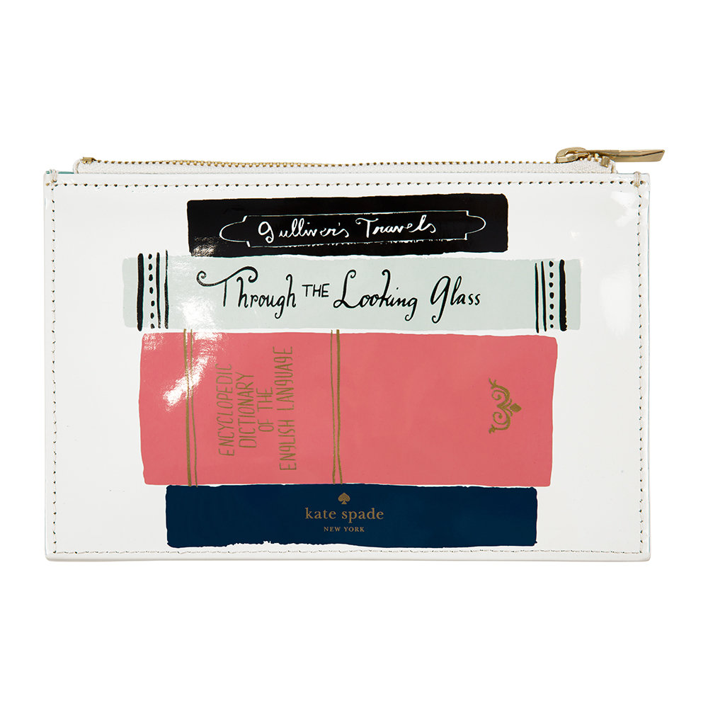 kate spade new york - Pencil Pouch - Stack of Classics