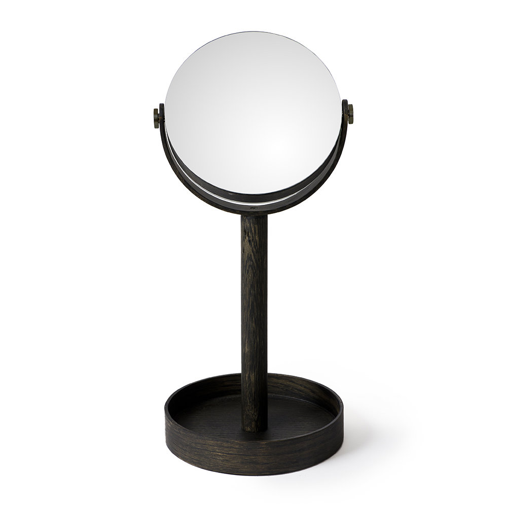 Wireworks - Magnify Mirror - Dark Oak