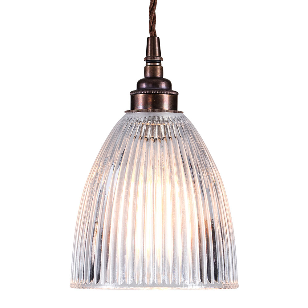 Old School Electric - Elongated Prismatic Pendant Light - Small