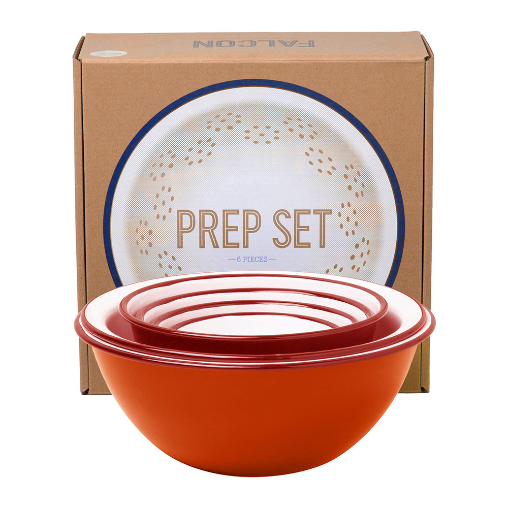 Falcon - Prep Set - Pillarbox Red