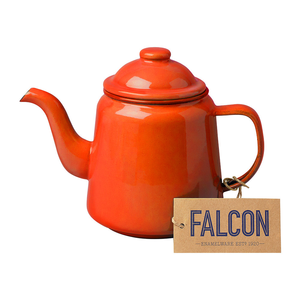 Falcon - Teapot - Pillarbox Red