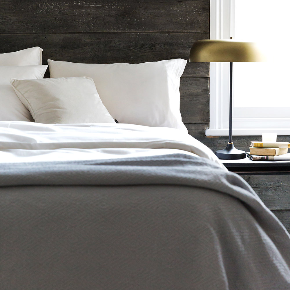 A by AMARA - Egyptian Cotton Duvet Cover - Ivory - King