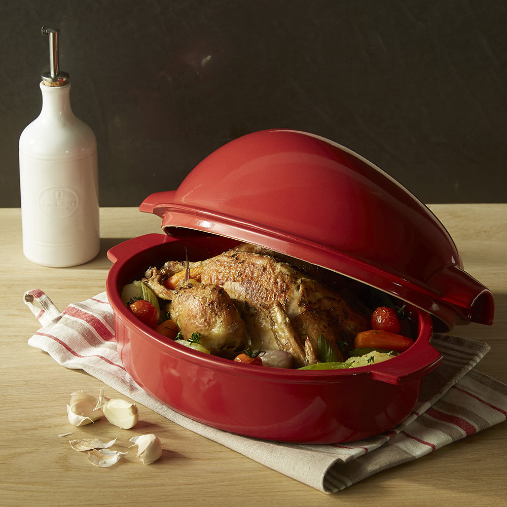 Emile Henry - Chicken Roaster - Red