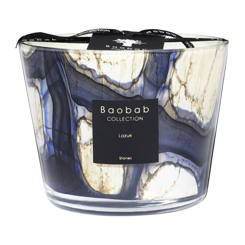Baobab Collection - Stones Lazuli Scented Candle - 10cm