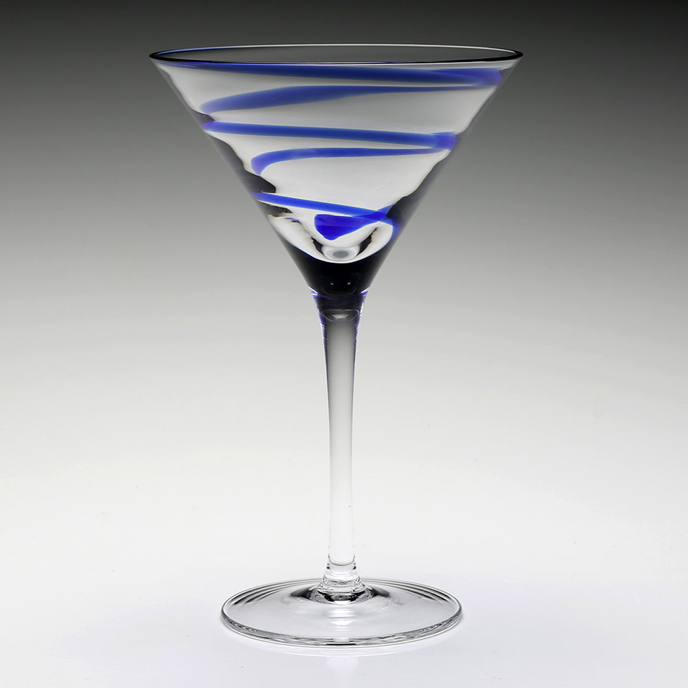 William Yeoward - Bella Blue Martini Glass