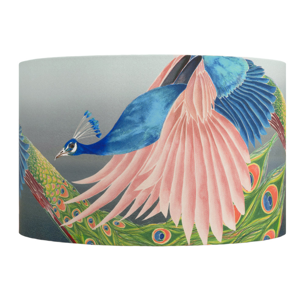Anna Jacobs - Flying Peacock Lamp Shade - Large