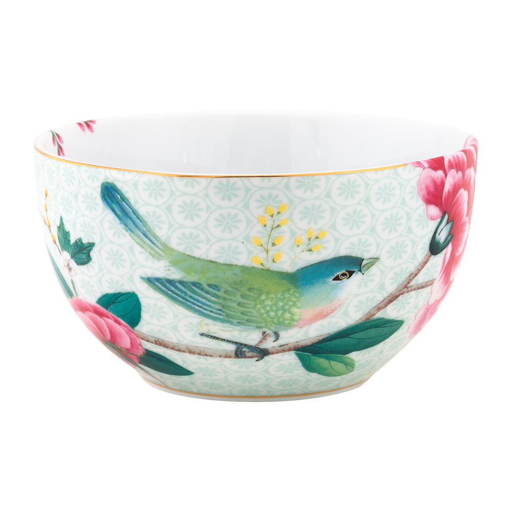 Pip Studio - Blushing Birds Cereal Bowl - 12cm - White