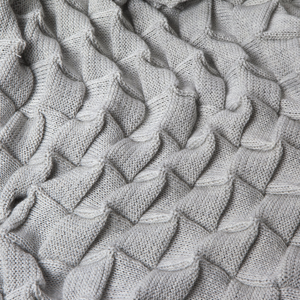 Design House Stockholm - Curly Throw - 170x80cm - Off White