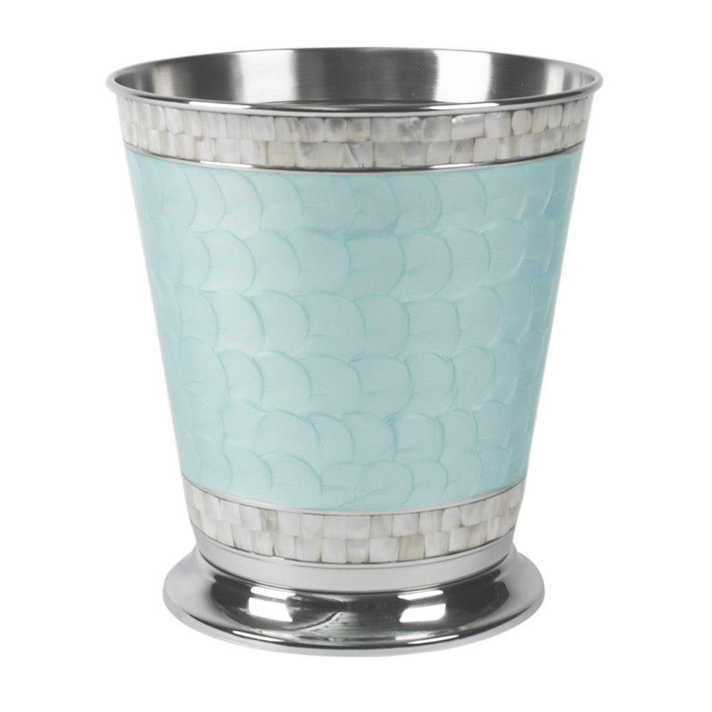 Julia Knight - Classic Waste Basket - Aqua