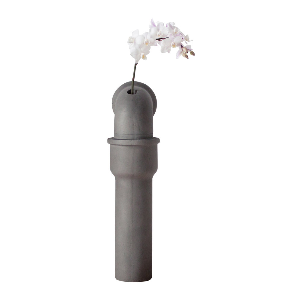 Lyon Beton - Pipeline Stem Vase - Small