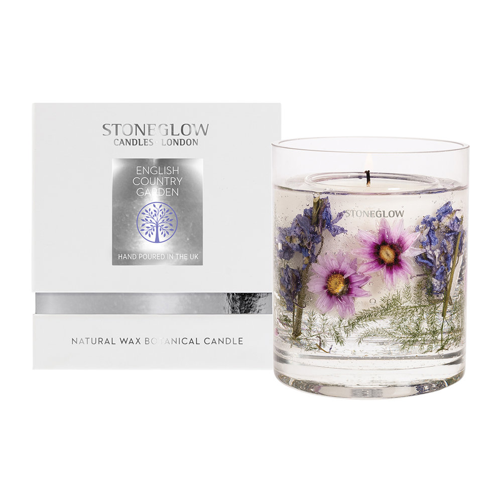 Stoneglow - Nature's Gift Gel Candle - English Country Garden